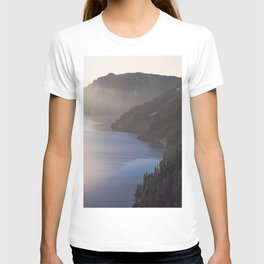 First Light at the Lake - Nature Photography T-shirt