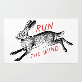 Run Like The Wind Rug