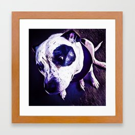 Mans Best Bud Framed Art Print