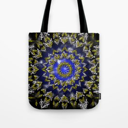 The Origin Gold and Silver With Plasma Tote Bag