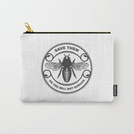 Save the bees Carry-All Pouch