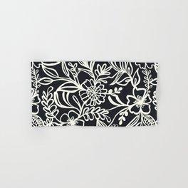 Continuous Line Florals Hand & Bath Towel