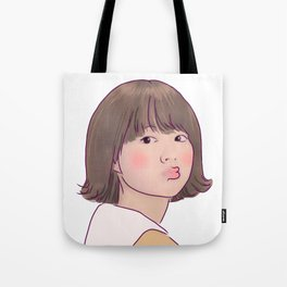 KISSY STRONG GIRL BONG SOON Tote Bag