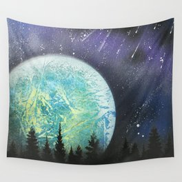 Beyond The Trees Wall Tapestry