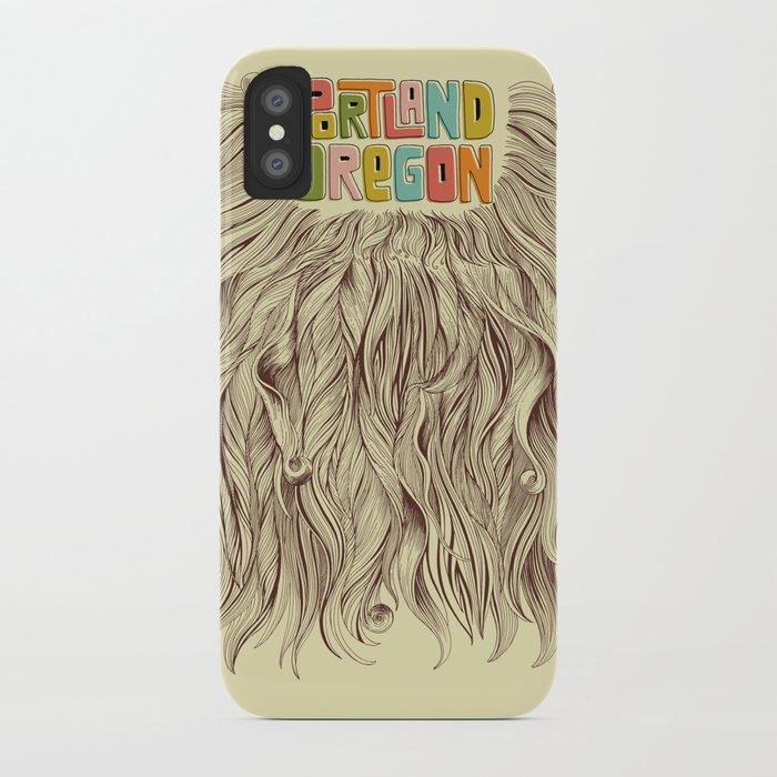 Portland = Beards iPhone Case