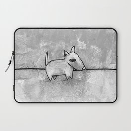 Dog No.1r by Kathy Morton Stanion Laptop Sleeve