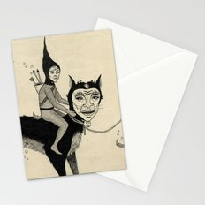 The Capture of the Beast Stationery Cards