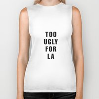 kardashian Biker Tanks featuring Too Ugly for LA by NoHo