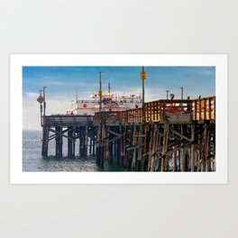 Balboa Pier 2 Art Print