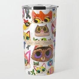 Los Dibujitos  Travel Mug