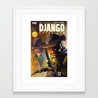 django Framed Art Prints featuring Django by Don Kuing