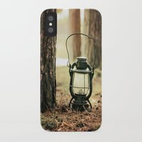 camping iPhone & iPod Cases featuring camping by katelyndee