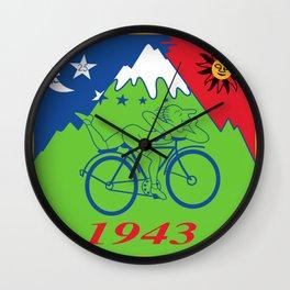 LSD 1943 - Hoffman Trip Wall Clock