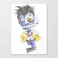 Dead Man Running Canvas Print