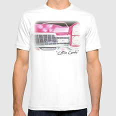 Pink Cadillac - Cotton Candy  White MEDIUM Mens Fitted Tee