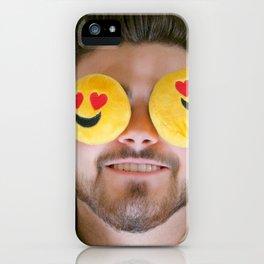Actual Emoji Heart EYES! iPhone Case