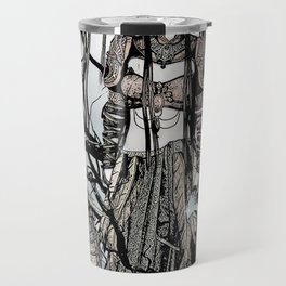Dragon Queen Comic Illustration 1 Travel Mug