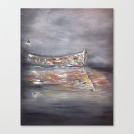 It's a Boat Canvas Print