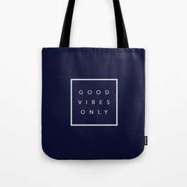 Good vibes only new shirt art vibe love cute hot 2018 style fashion sticker iphone cover case skin m Tote Bag