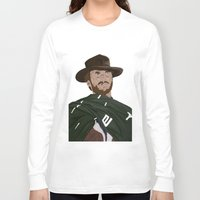 clint eastwood Long Sleeve T-shirts featuring Clint Eastwood by  Steve Wade ( Swade)