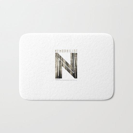 Nemophilist 002 Bath Mat