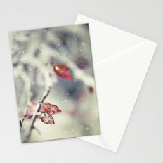 Snow Falling Stationery Cards