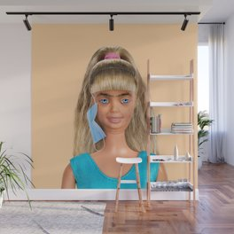 Quarantine Doll Wall Mural