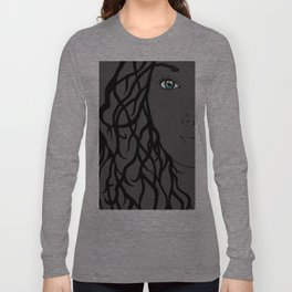 Nieta Galaxy Eyes Half Long Sleeve T-shirt