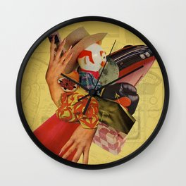 The Most Polite Restraint Wall Clock