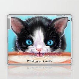 Whiskers on Kittens Laptop & iPad Skin