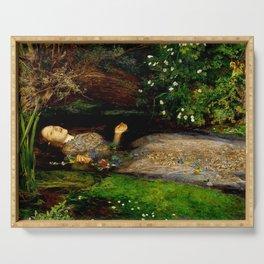"John Everett Millais ""Ophelia"" Serving Tray"