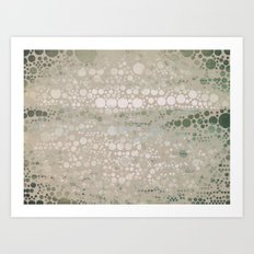 Sea Glass -- Abstract  Art Print