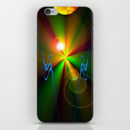 Light show 3 iPhone Skin