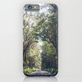 Tunnel of Trees - Color - Kauai, Hawaii iPhone Case
