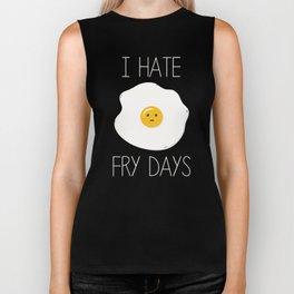 I Hate Fry-Days Biker Tank