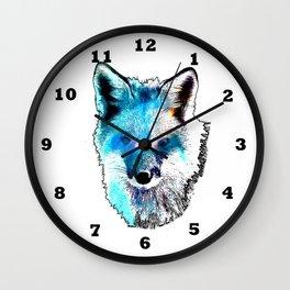 Space Fox no2 Wall Clock