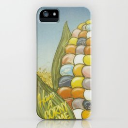 Have a Corny Time iPhone Case