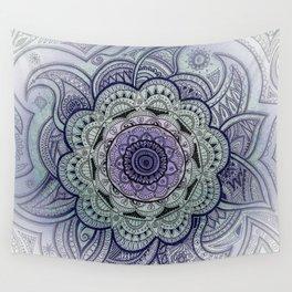 Mandala Violet Wall Tapestry