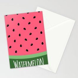 Summer Watermelon Stationery Cards
