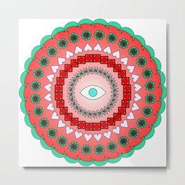 Mandala Metal Print
