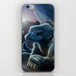 The sorceress and the dragon iPhone Skin