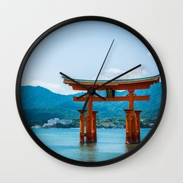Miyajima Floating Gate Wall Clock