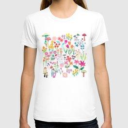 The Odd Floral Garden I T-shirt