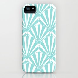 Sea shell Blue iPhone Case