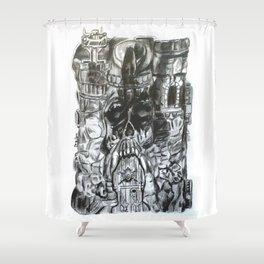 Castle Grayskull Shower Curtain
