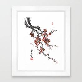 Cherry Blossom Two Framed Art Print