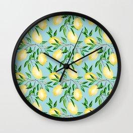 Lemon mood.1 Wall Clock