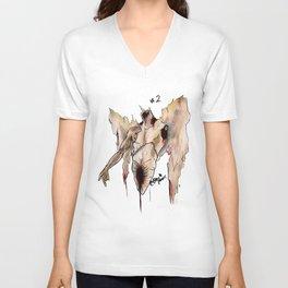 INKTOBER #2 'Angel' Unisex V-Neck