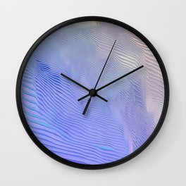 Returning Late from a Spring Outing Wall Clock
