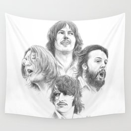 John, Paul, George & Ringo Wall Tapestry